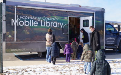 Bookmobile mobile library back on the road