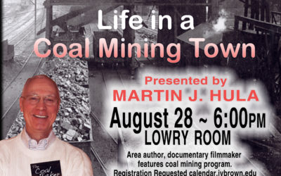 Library to host local author and show coal mining documentary